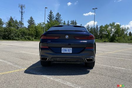 2020 BMW X6 M50i, rear