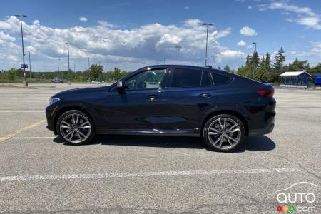 2020 BMW X6 M50i, profile