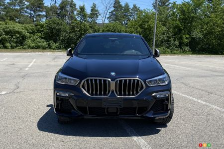 2020 BMW X6 M50i, front
