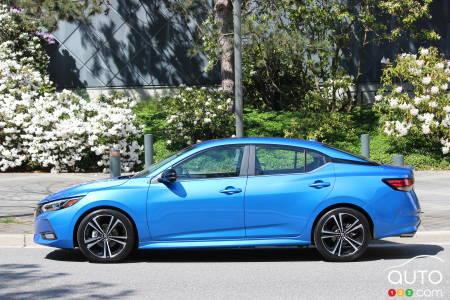 2020 Nissan Sentra, profile