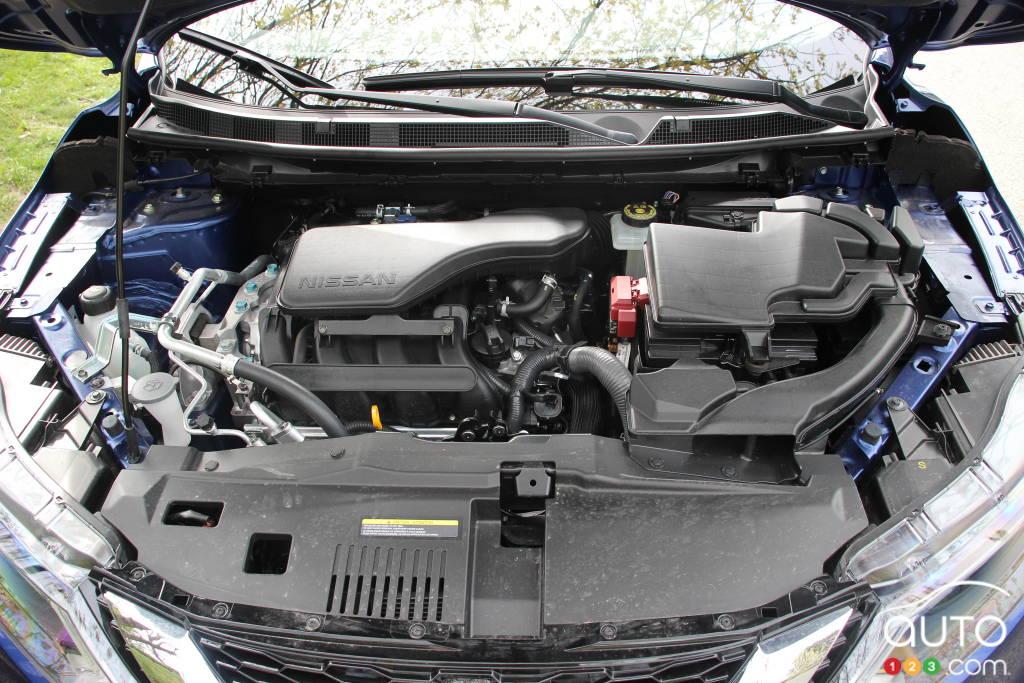 Nissan Qashqai 2020, moteur