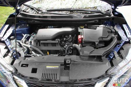 2020 Nissan Qashqai, engine
