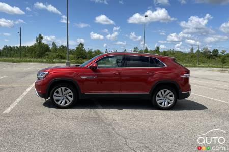 2020 Volkswagen Atlas Cross Sport, profile