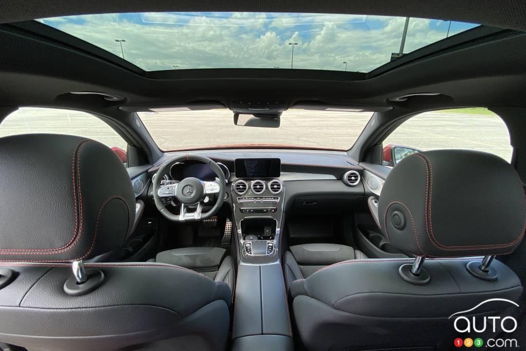 Mercedes-AMG GLC 43 2020,  intérieur