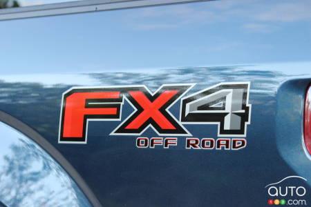 2020 Ford F-150 Platinum, FX4 sticker