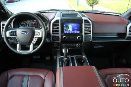 2020 Ford F-150 Platinum, interior