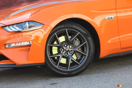 2020 Ford Mustang EcoBoost HPP, wheel