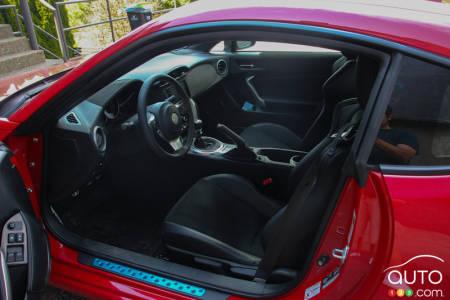 2020 Toyota 86, interior