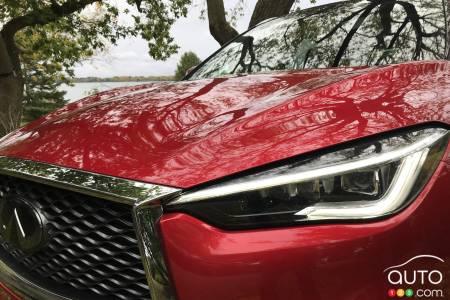 2020 Infiniti QX50, grille, headlight