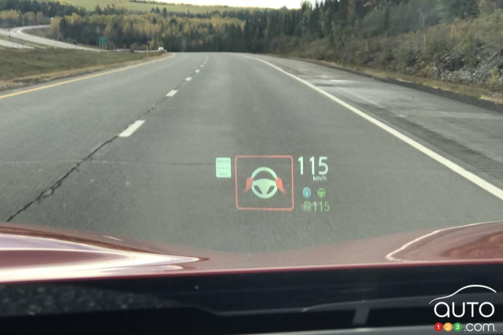 Infiniti QX50 2020, système conduite semi-autonome