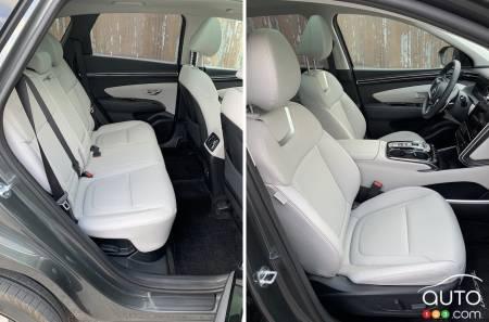 2022 Hyundai Tucson Hybrid,  two rows of seats