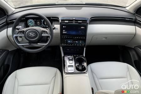 2022 Hyundai Tucson Hybrid, interior