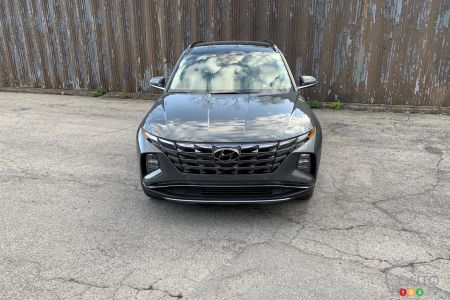 2022 Hyundai Tucson Hybrid,  front