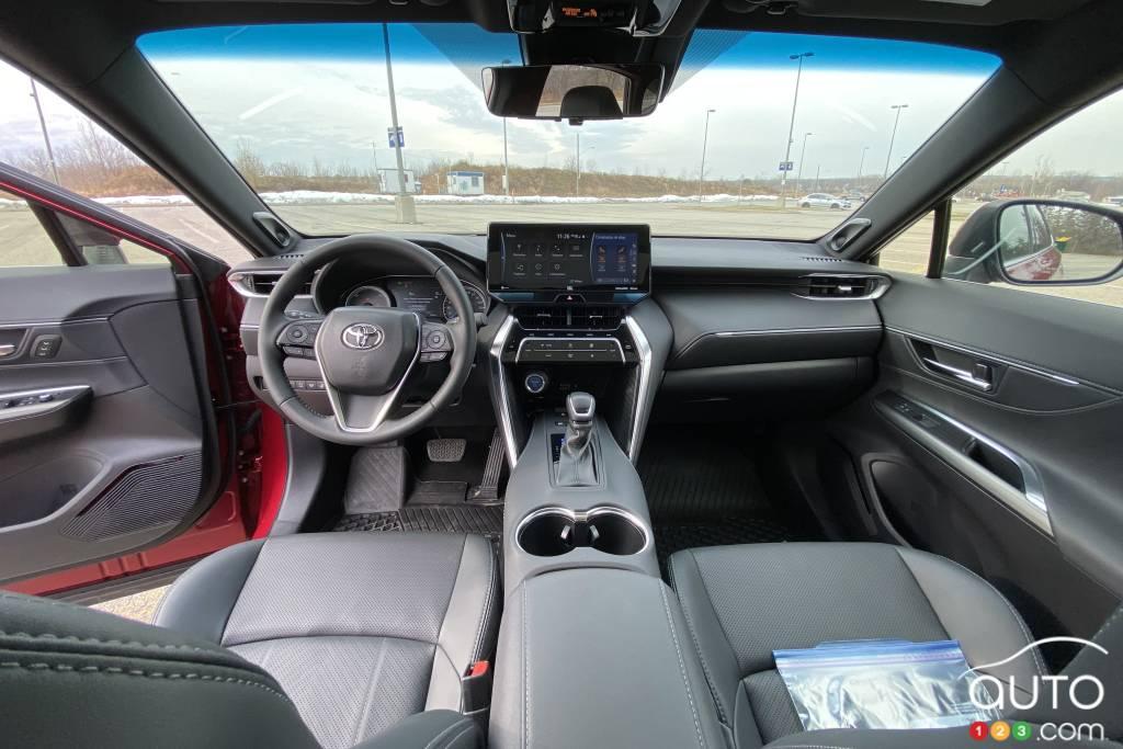 Toyota Venza, intérieur