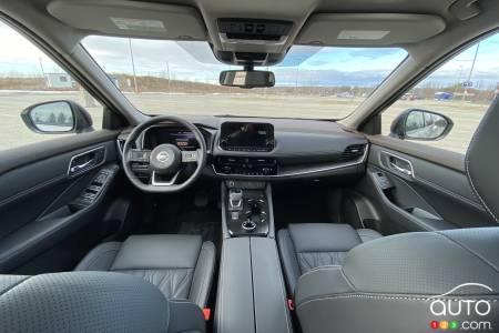 2021 Nissan Rogue Platinum, interior