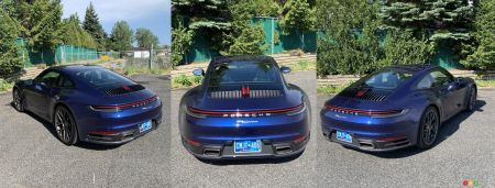 2020 Porsche 911, rear
