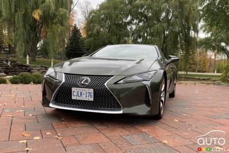 2021 Lexus LC 500, front