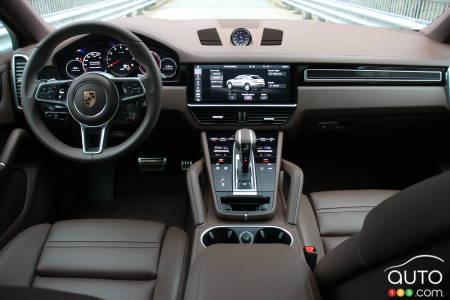 2020 Porsche Cayenne S Coupe, interior