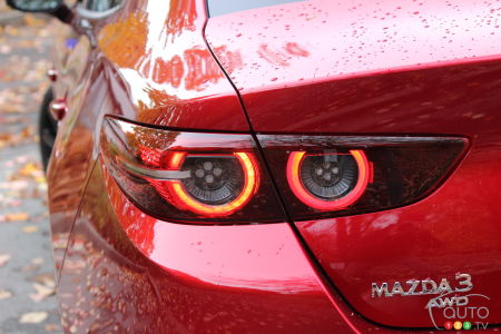 2021 Mazda3 Turbo, rear light