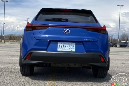 2021 Lexus UX 250h, rear