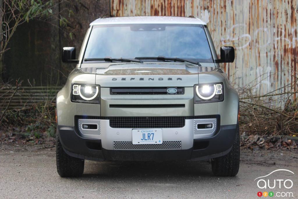 Land Rover Defender 2021, avant