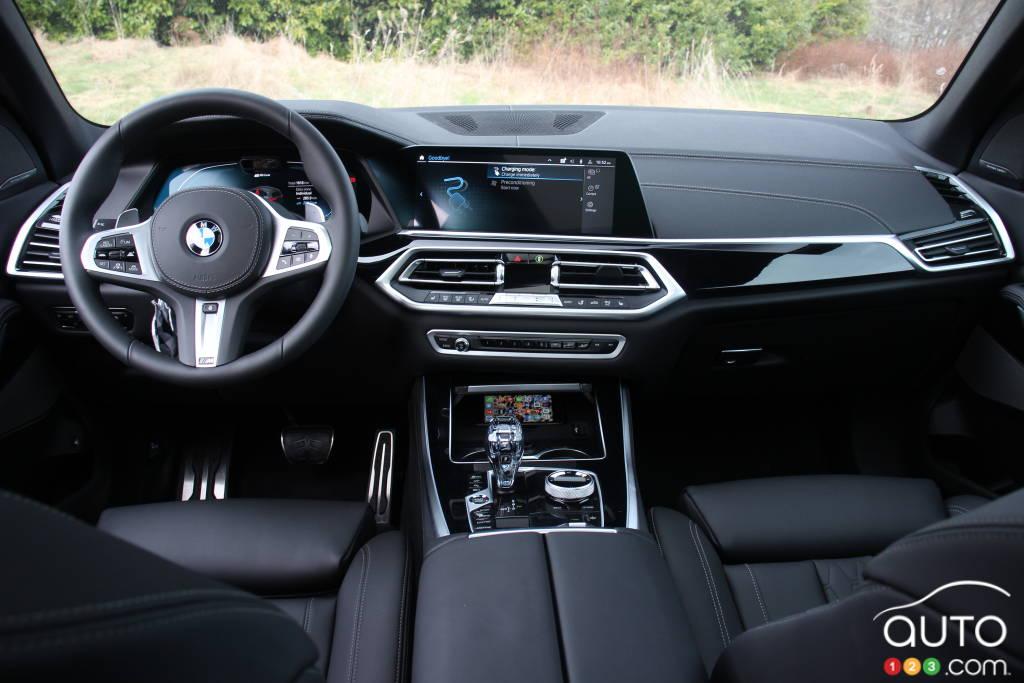 BMW X5 xDrive45e PHEV 2021, intérieur