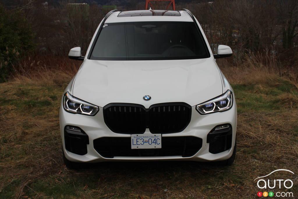 BMW X5 xDrive45e PHEV 2021, avant