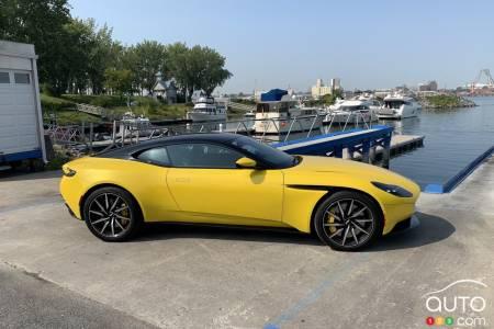 2020 Aston Martin DB11, profile