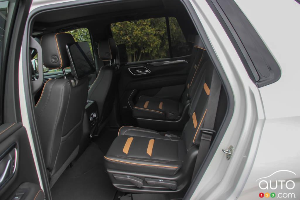 GMC Yukon AT4 2021, sièges