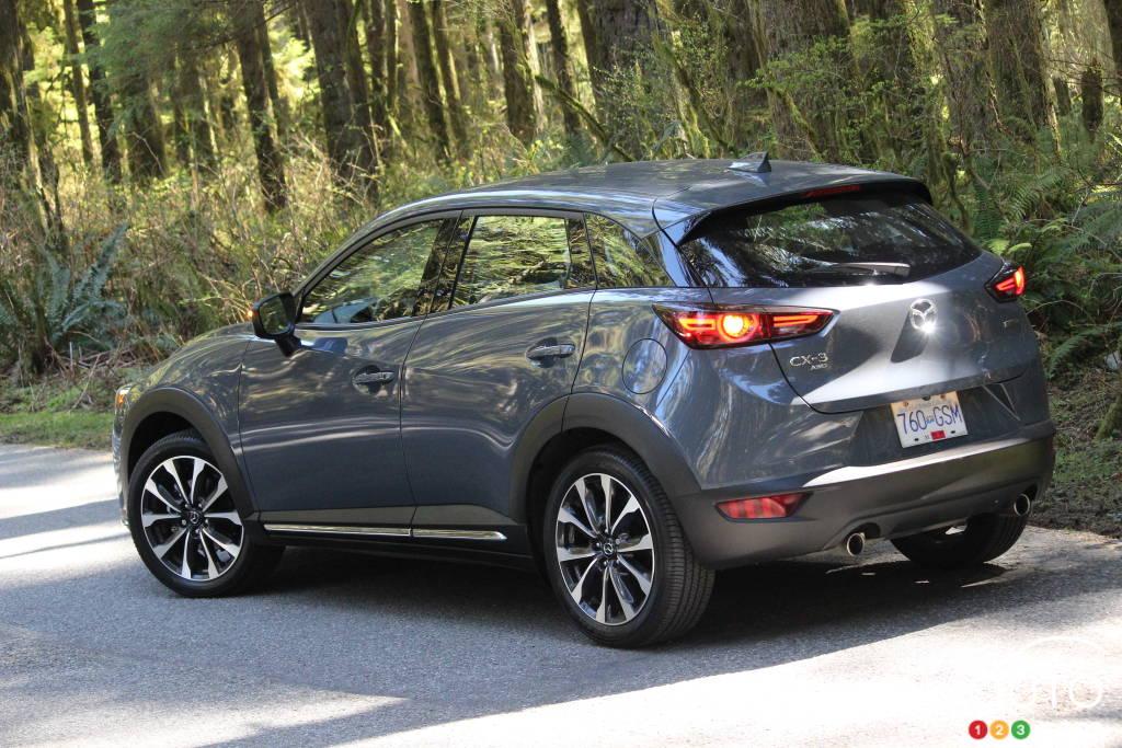 Mazda CX-3 2021, trois quarts arrière