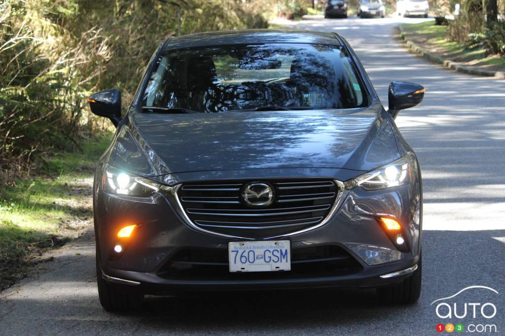 Mazda CX-3 2021, avant
