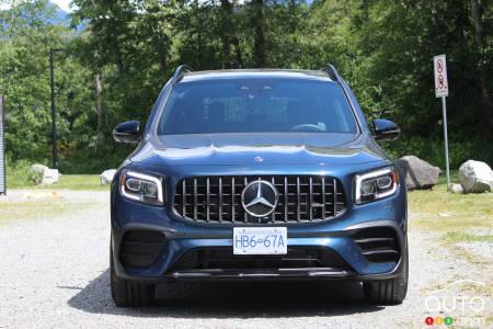 Mercedes-AMG GLB 35 2021, avant