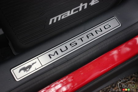 2021 Ford Mustang Mach-E, badging