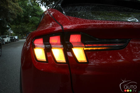 2021 Ford Mustang Mach-E, rear light