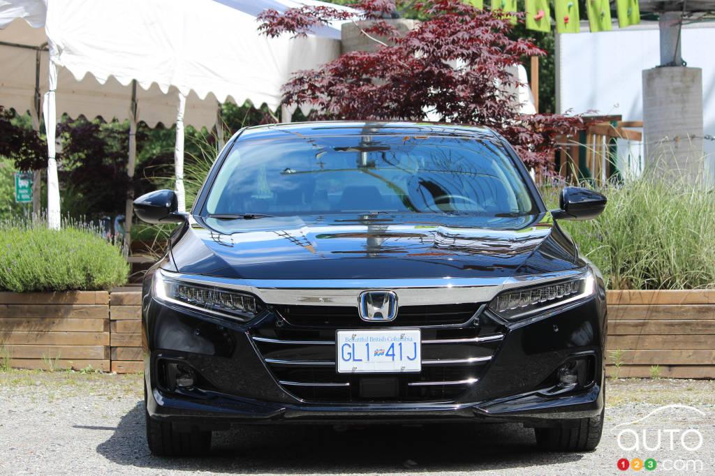 Honda Accord hybride 2021, avant