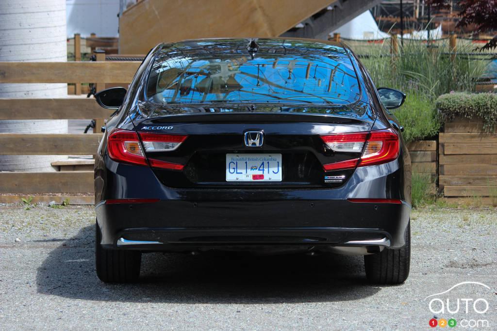 Honda Accord hybride 2021, arrière