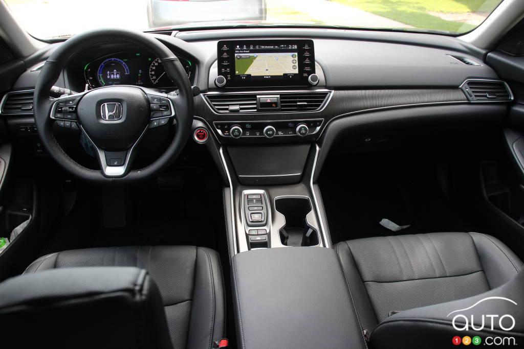Honda Accord hybride 2021, intérieur