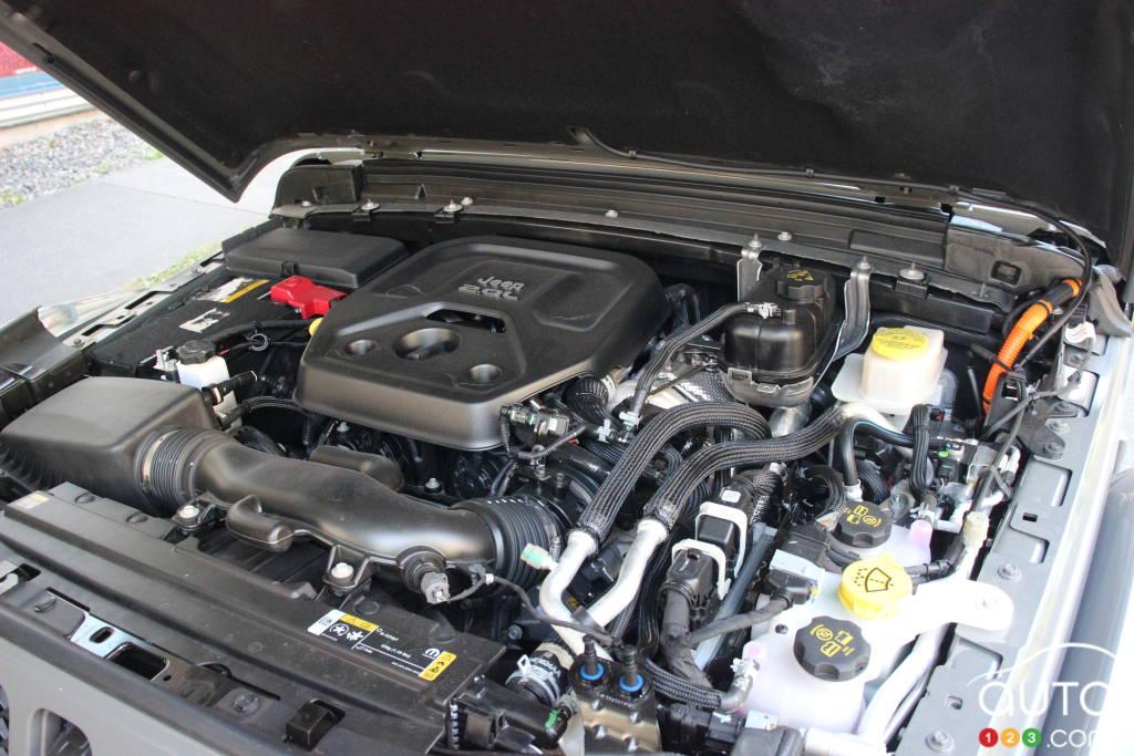 Jeep Wrangler 4xe 2021, moteur
