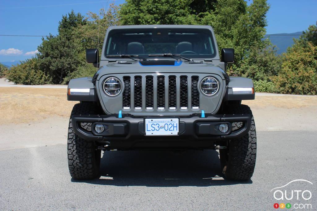 Jeep Wrangler 4xe 2021, avant