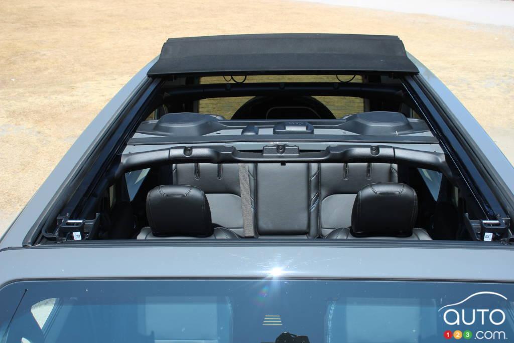 Jeep Wrangler 4xe 2021, toit