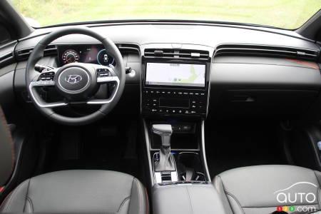 2022 Hyundai Santa Cruz, interior