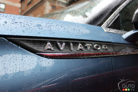 2020 Lincoln Aviator, logo