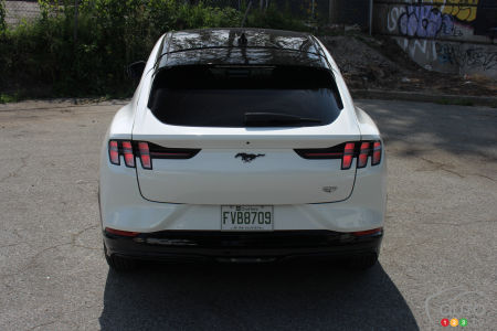 2021 Ford Mustang Mach-E , California Route 1 edition, rear