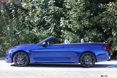 2020 BMW M4 Cabriolet, profile