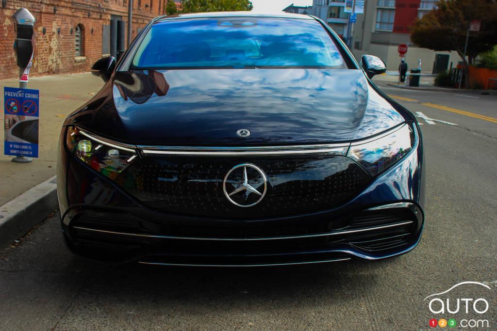 Mercedes-EQ EQS 580 4Matic 2022, avant