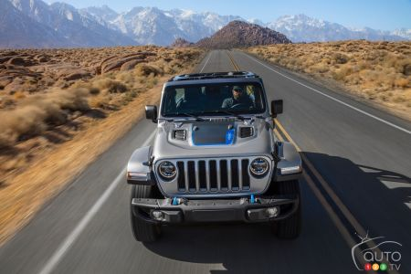 2021 Jeep Wrangler 4xe, front