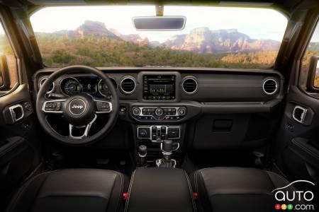 2021 Jeep Wrangler 4xe, interior