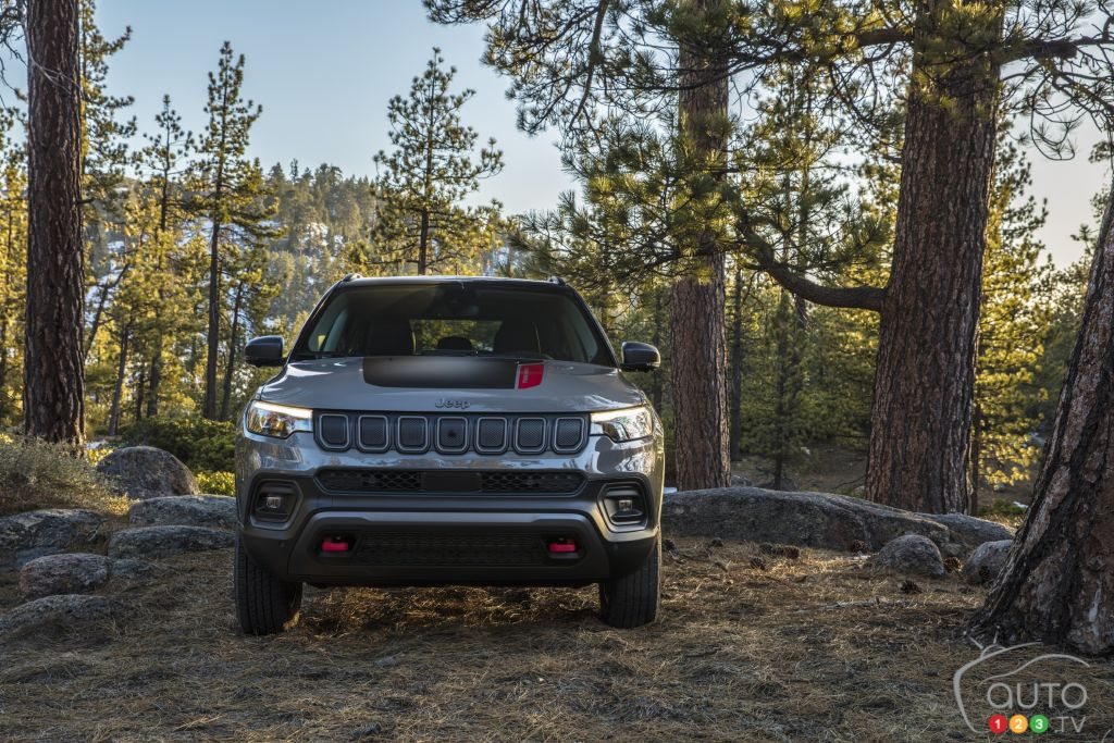 Jeep Compass 2022, avant
