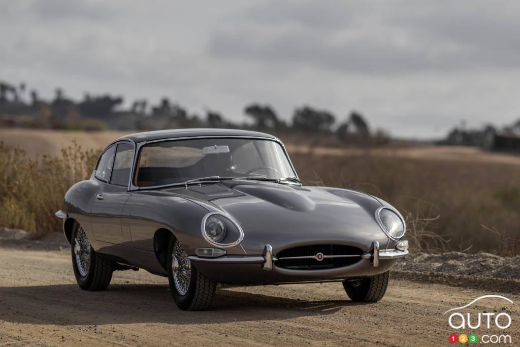 Jaguar XK-E 1961