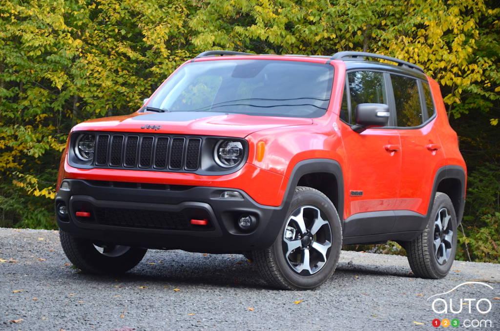 2019 Jeep Renegade Trailhawk Review Car Reviews Auto123